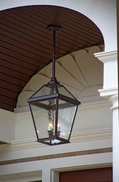London Lantern Porch Light Close Up Traditional Outdoor