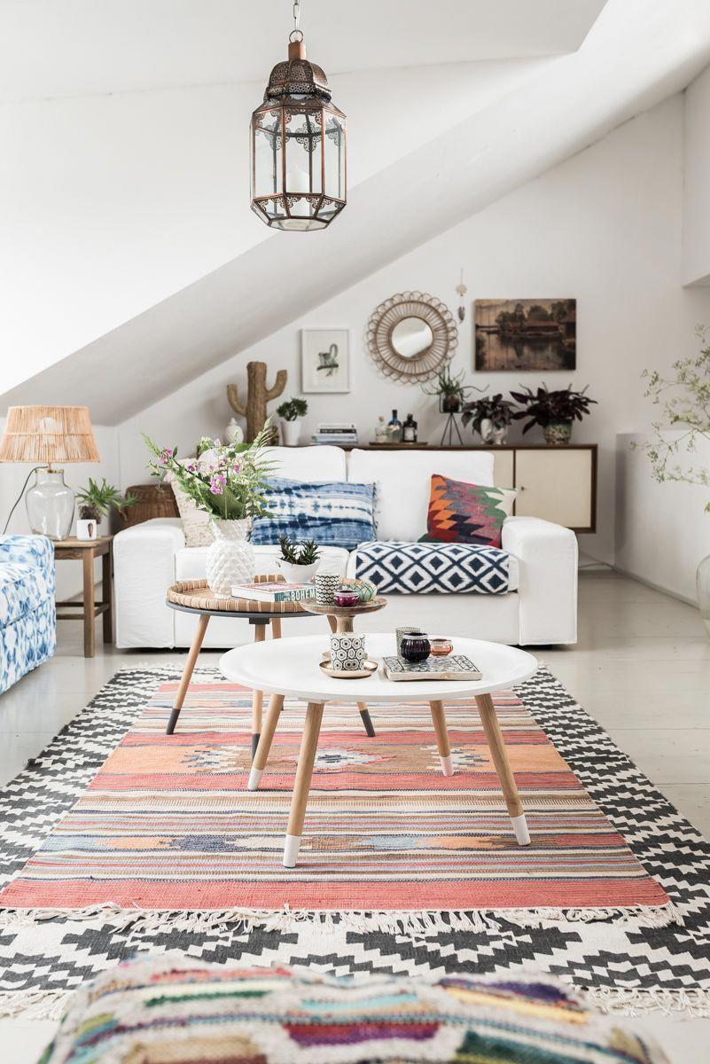How To Decorate Your Living Room I 2020 Dekorasjon Boho