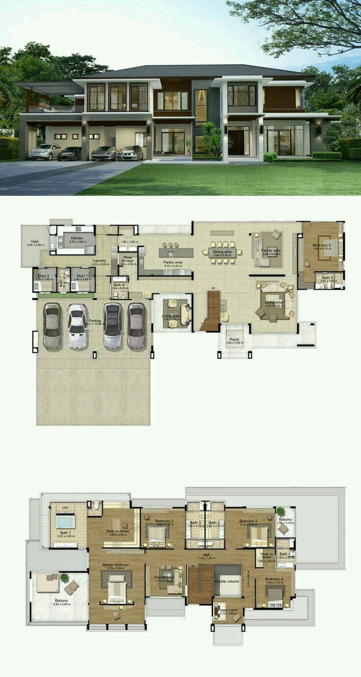 Pin By Dyah Ariyantini On Casa Modern House Floor Plans House Layout Plans House Layouts