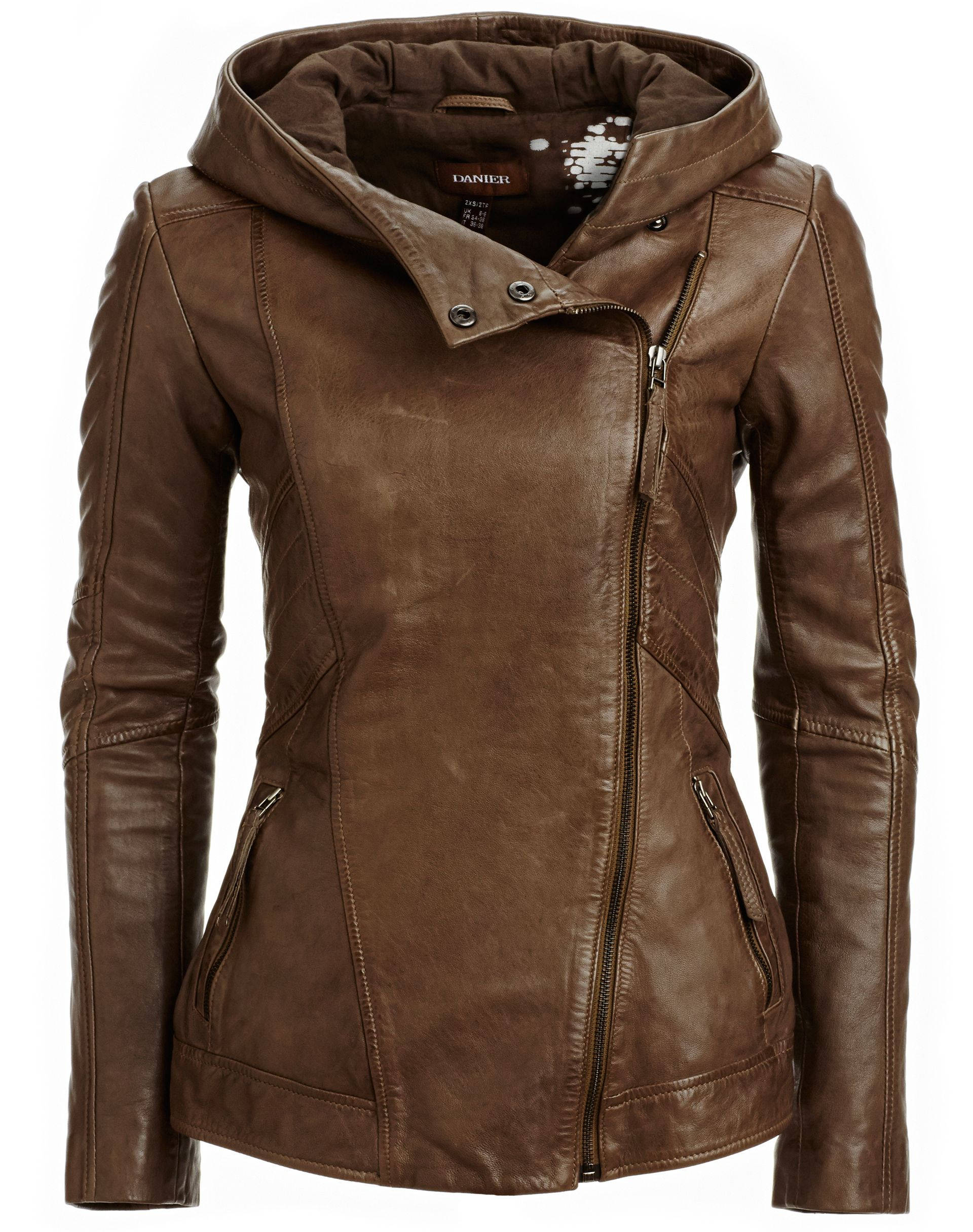 Danier Leather Jackets  Style: 104030573  $365 I love love this jacket. The neck, the shape,the leather.