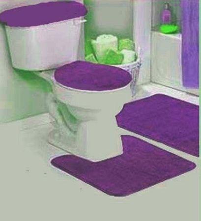 Bathroom Bathroom Vanity Sconces Purple Bathroom Sets Bathroom - Burgundy bathroom rugs for bathroom decorating ideas