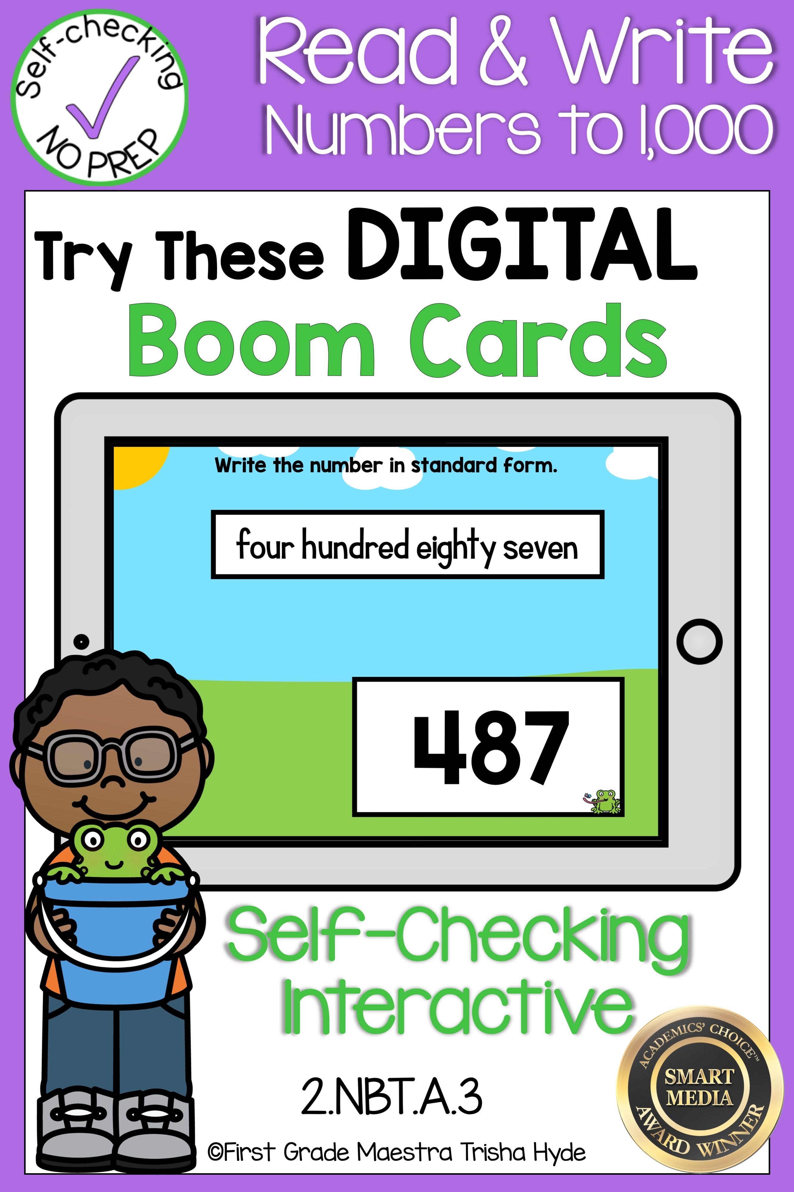 Boom Cards Read Write And Expand Numbers