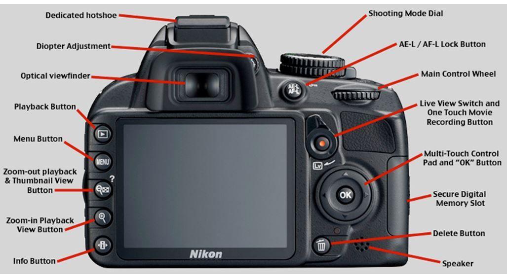 Nikon D3100 Manual User Guide