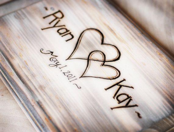 Shabby Chic Rustic Wedding Album