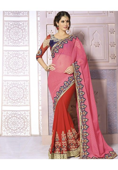 85e88d4be8 #Gorgeous #Stylish #unique and #beautiful #Indian #outfit #Awesome #Coloured  #Sari