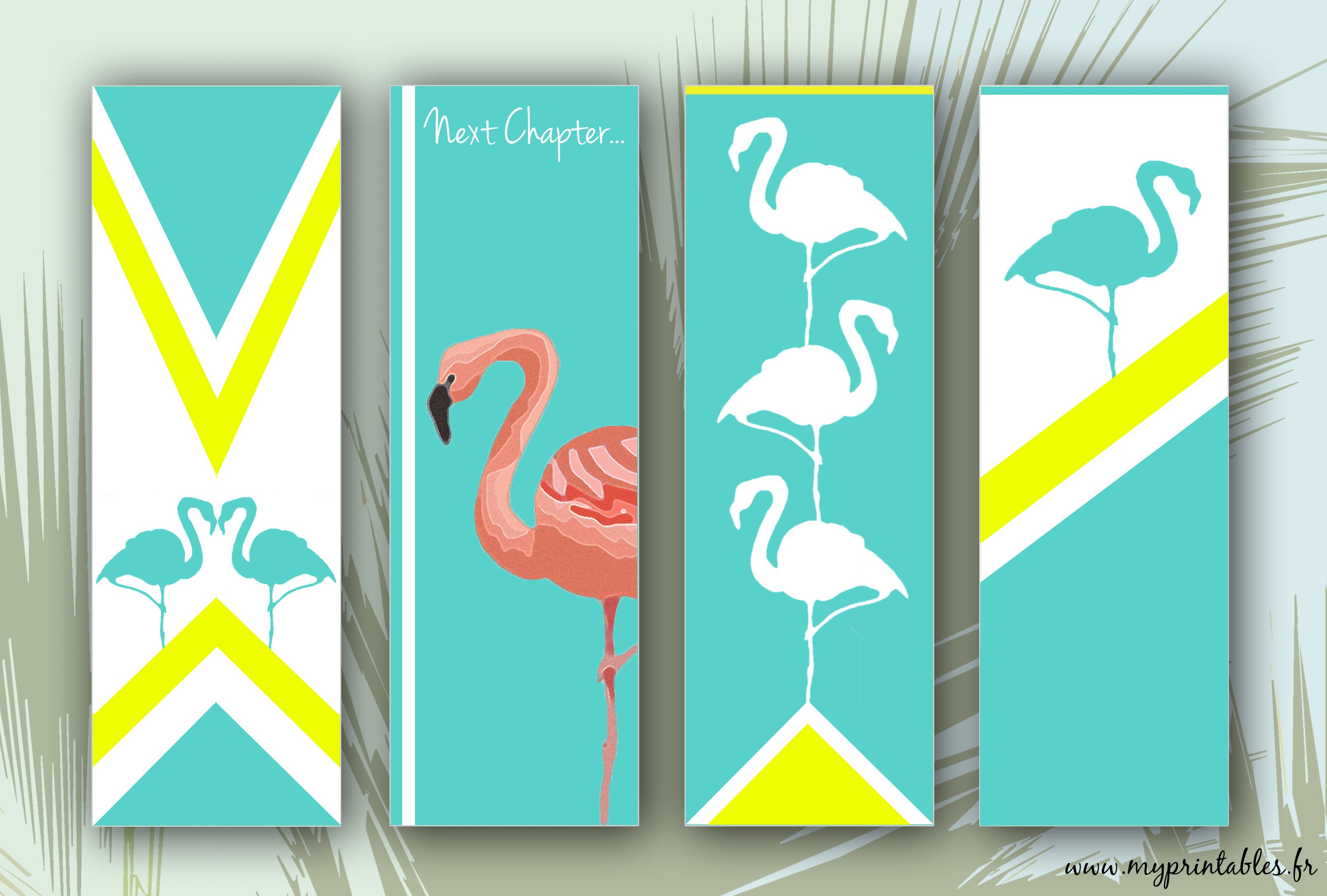 image regarding Bookmarks Printable called Free of charge PRINTABLE - Flamingo Bookmarks - Marques-web site Flamant