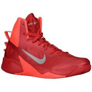 half off 362b3 63947 Nike Zoom Hyperfuse 2013 - Men s - Black University Red Metallic Silver