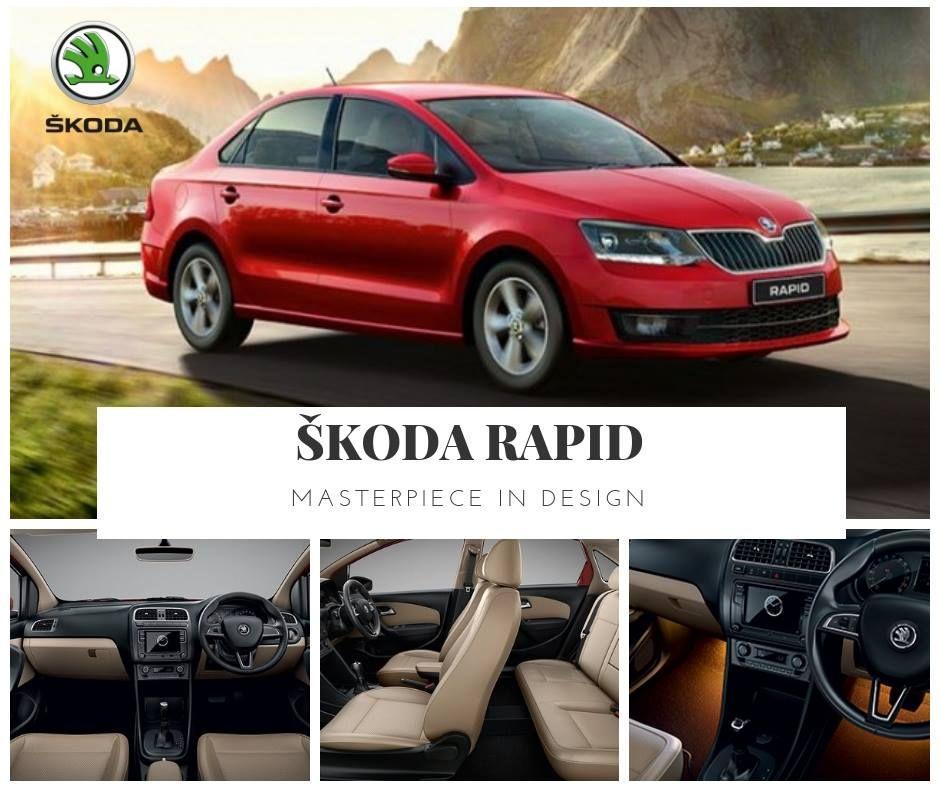 The Timeless Graceful Design Of The Skoda Rapid Sedan Conceals A