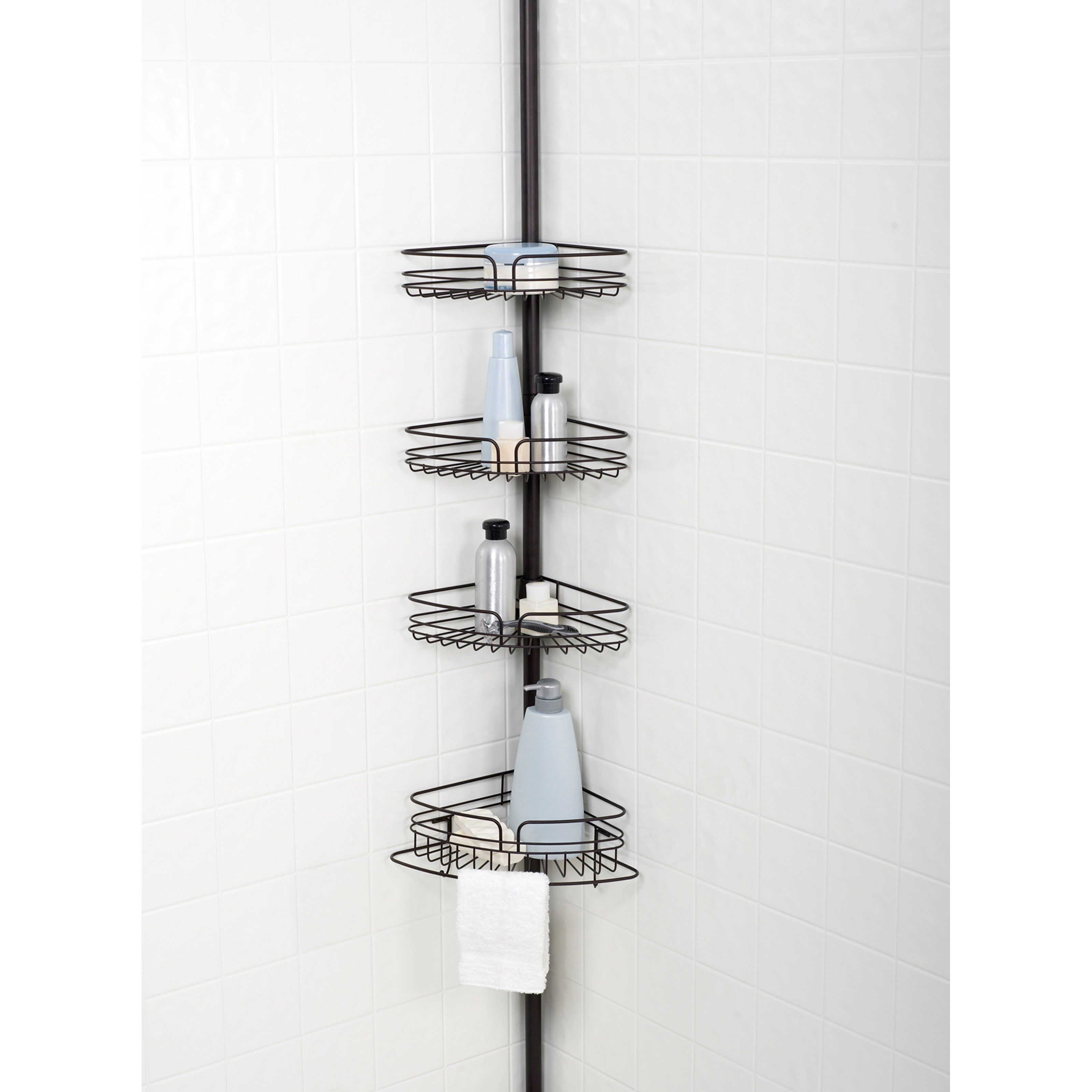 Have to have it. Zenith E2132HB Tub and Shower Tension Pole Caddy ...