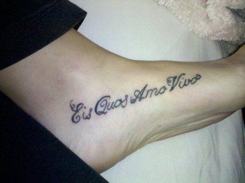 Eis quos amo vivos https://tattoo.egrafla.fr/2015/11/04 ...