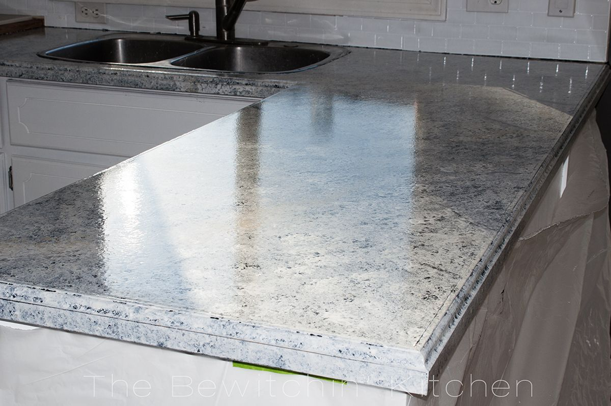 Painting Kitchen Countertops With Giani Granite | Painting kitchen ...