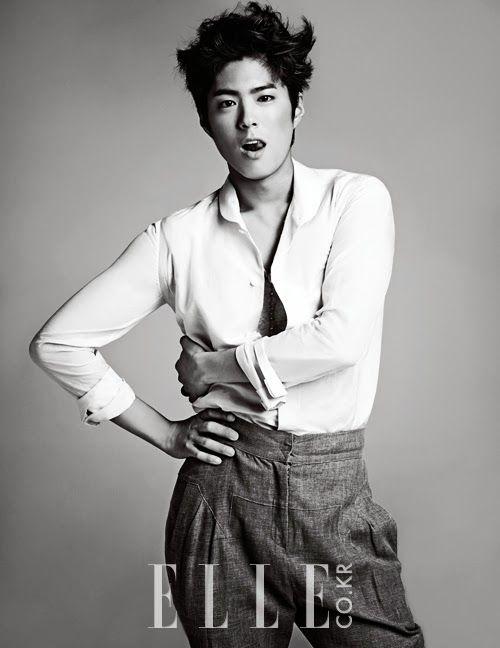 Park Bo-gum // Elle Korea // May 2013