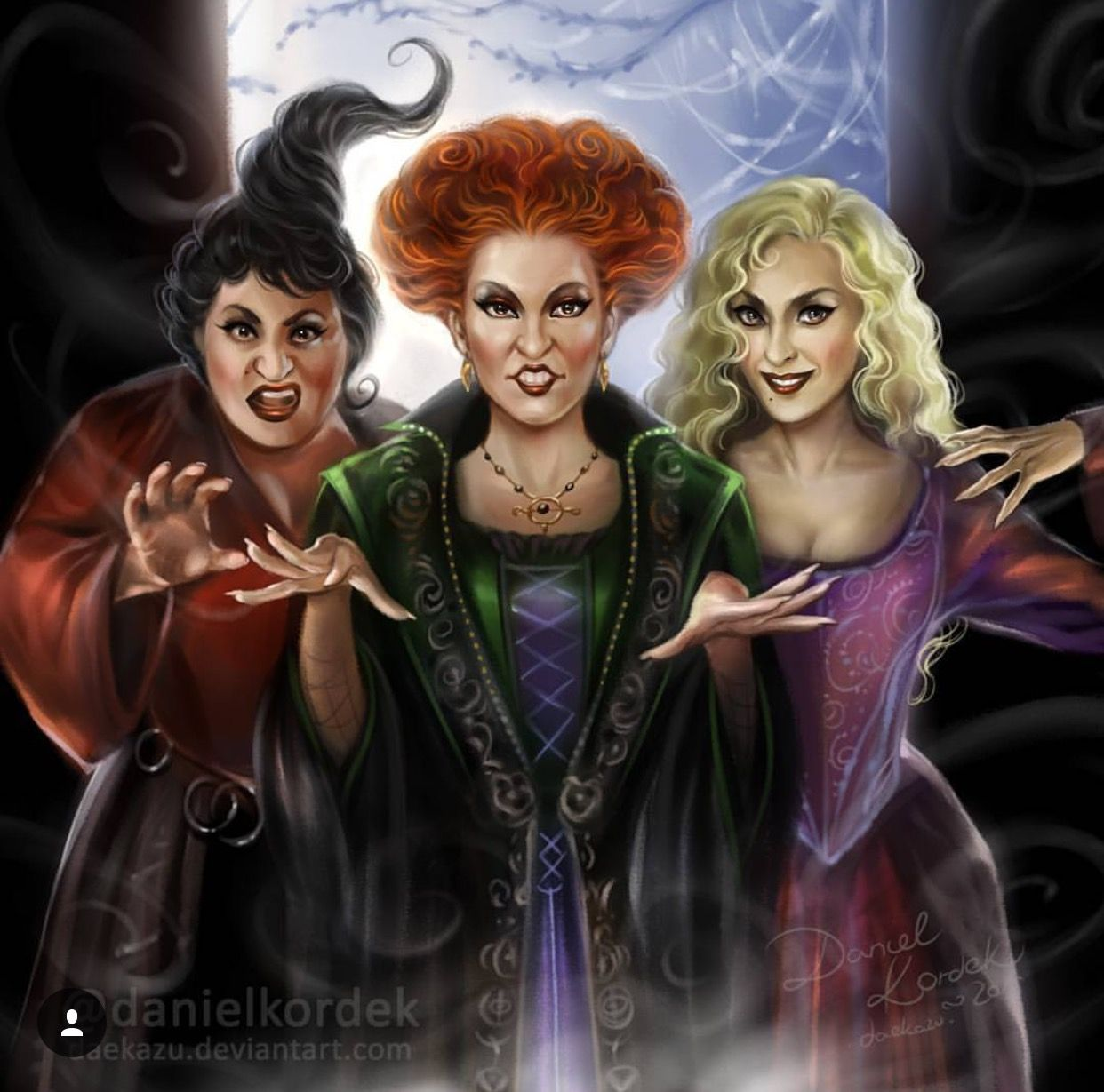 Daniel Kordek Hocus Pocus | Hocus pocus, Halloween ...
