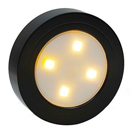 Closet Light Super Bright Tap Light Battery Operated Led Push Puck
