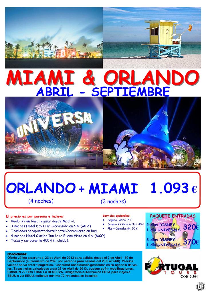 USA-combinado Miami-Orlando Salidas desde Madrid de Abril a Septiembre-por solo 1.093 €/pax - http://zocotours.com/usa-combinado-miami-orlando-salidas-desde-madrid-de-abril-a-septiembre-por-solo-1-093-epax/