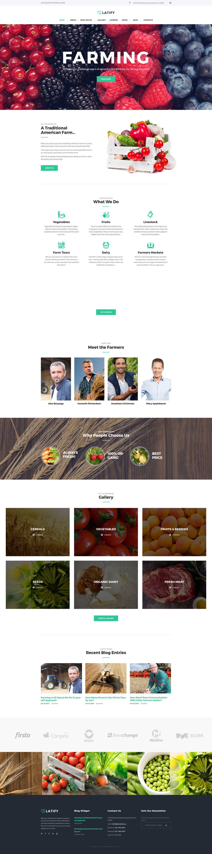 Farmer WordPress Theme Está farto de procurar por templates WordPress? Fizemos um E-Book GRATUITO com OS 150 MELHORES TEMPLATES WORDPRESS. Clique aqui http://www.estrategiadigital.pt/150-melhores-templates-wordpress/ para fazer download imediato!