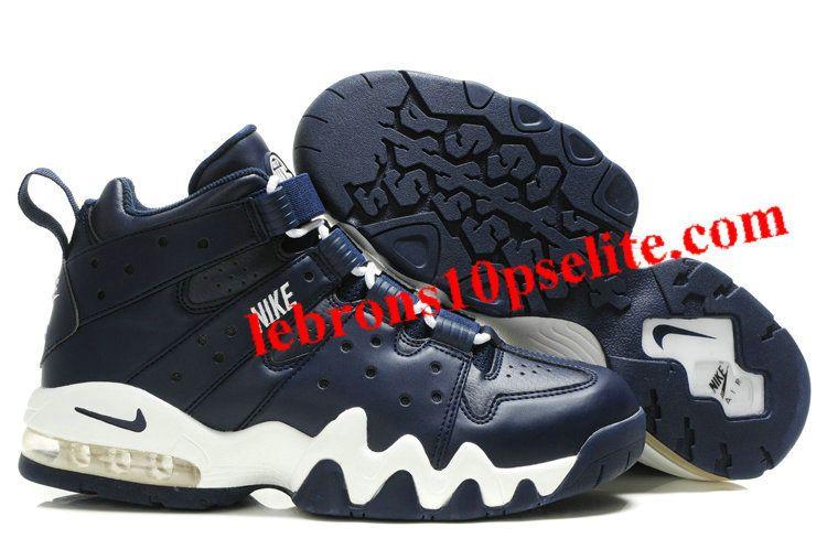 Charles Barkley Shoes - Nike Air Max2 CB 94 Dark Blue/White
