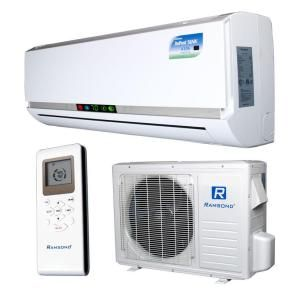 Ramsond 9 500 Btu 3 4 Ton Ductless Duct Free Mini Split Air Conditioner And Heat Pump 110v 60hz 27gw2 At The Heat Pump Ductless Mini Split Mini Split Ac