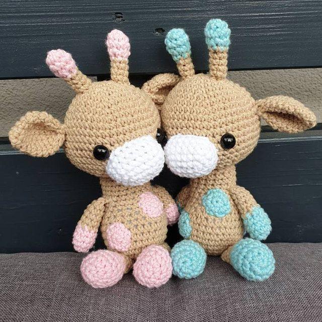 PATTERN: Gabe the Giraffe - Crochet giraffe pattern - amigurumi giraffe pattern - crocheted giraffe #crochetgiraffepattern PATTERN: Gabe the Giraffe - Crochet giraffe pattern #crochetgiraffepattern