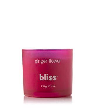 Bliss Ginger Flower Candle 18 5 Oz Blissworld Ginger Flower Flower Candle Flower Scent
