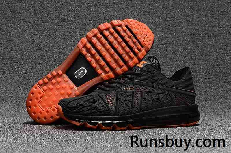 New Coming Nike Air Max 2017 9 Men Carbon Grey Orange  4832ceeb2