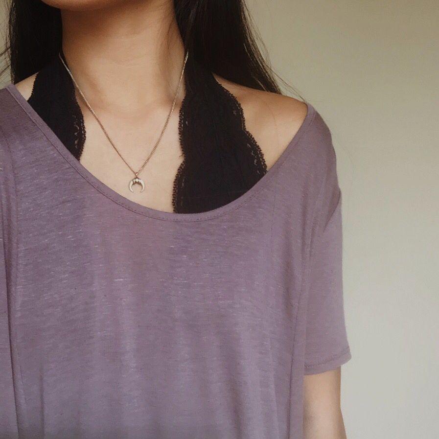 3d7847fa654e4e lace halter from urban  -) Lace Bralette Under Shirt