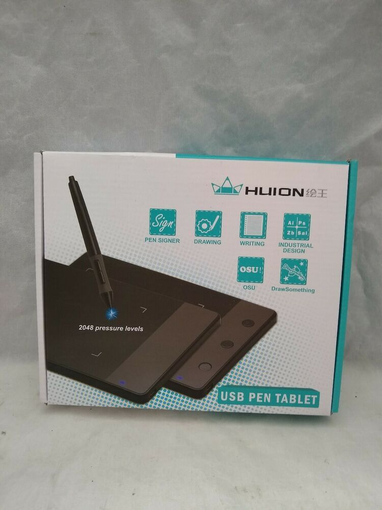 Huion H420 USB Graphics Drawing Tablet Board Kit #affilink