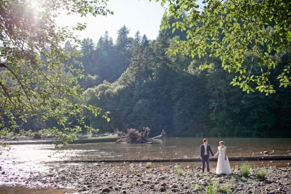 This is the one that started it all for me! My Ideas & inspiration have been bounced around from here! Oregon Forest DIY Wedding on http://ruffledblog.com