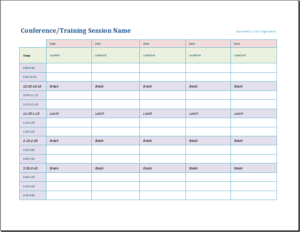 Official Meetings And Training Calendar Download At Http