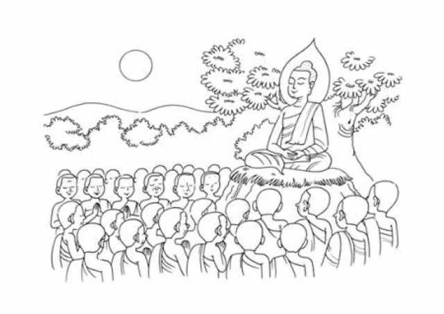 ภาพว นสำค ญมาฝากจ ะ ว นมาฆบ ชา ใช เป นส อในการสอนได นะคะ วอลเปเปอร ด สน ย สม ดระบายส ภาพประกอบ