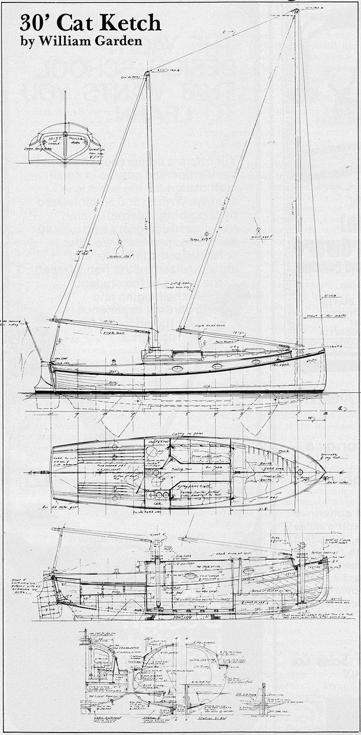 william garden yacht designs | Re: Bill Garden design info ...