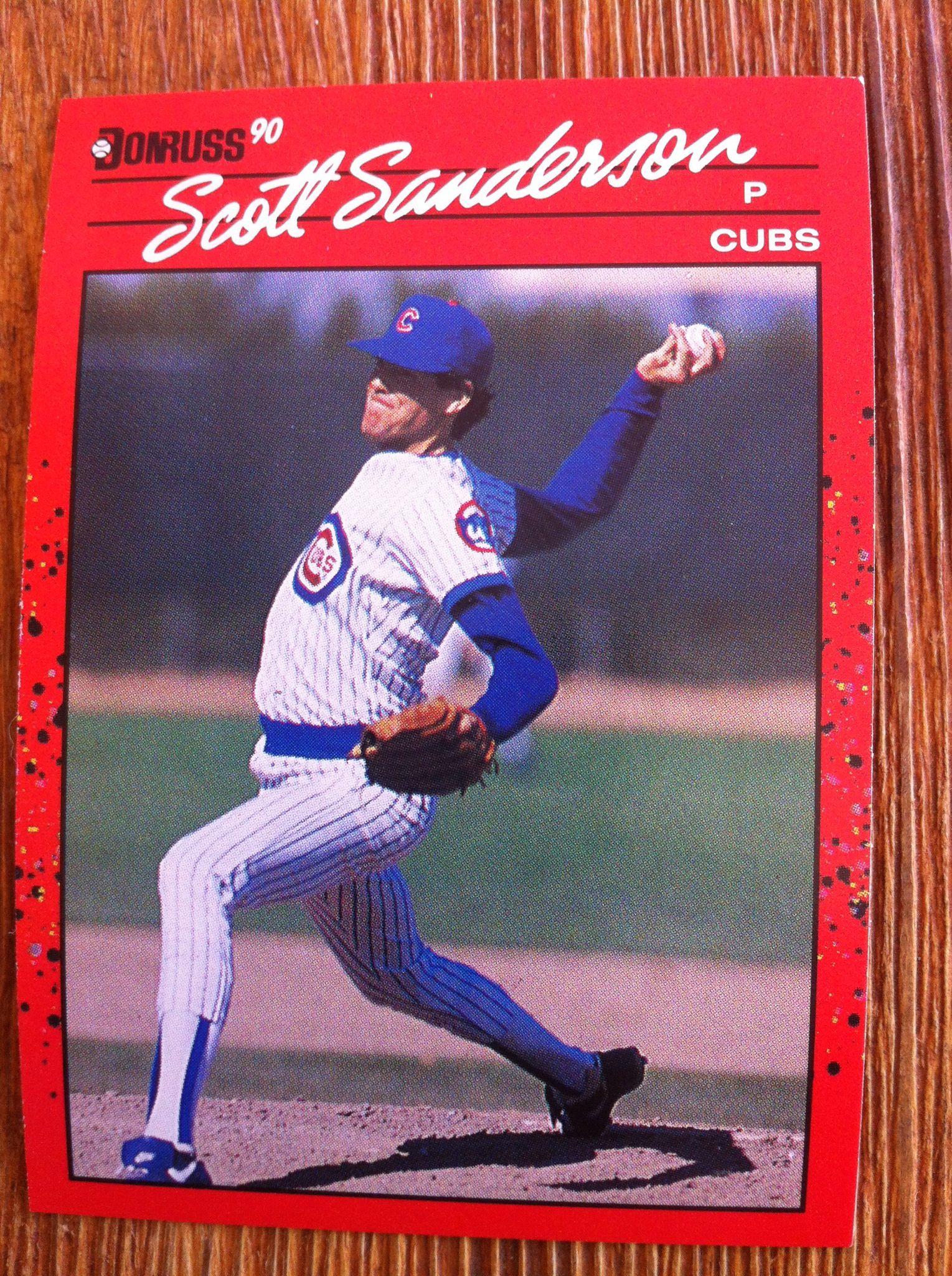 Scott Sanderson Baseball Cards Old Baseball Cards Baseball