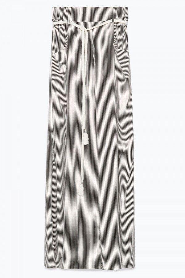 Zara Striped Trousers, £25.99
