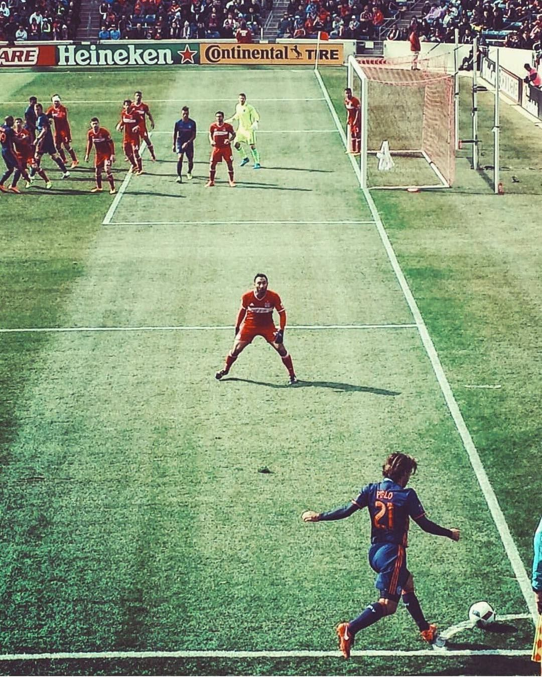 """""""#ElMaestro #Pirlo ☝️ #MLS #legend"""""""