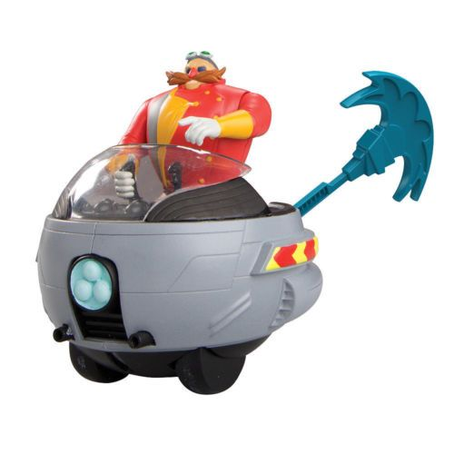 Sonic The Hedgehog Sonic Boom Dr Eggman With Ripcord Eggmobile Eggman Sonic Boom Sonic