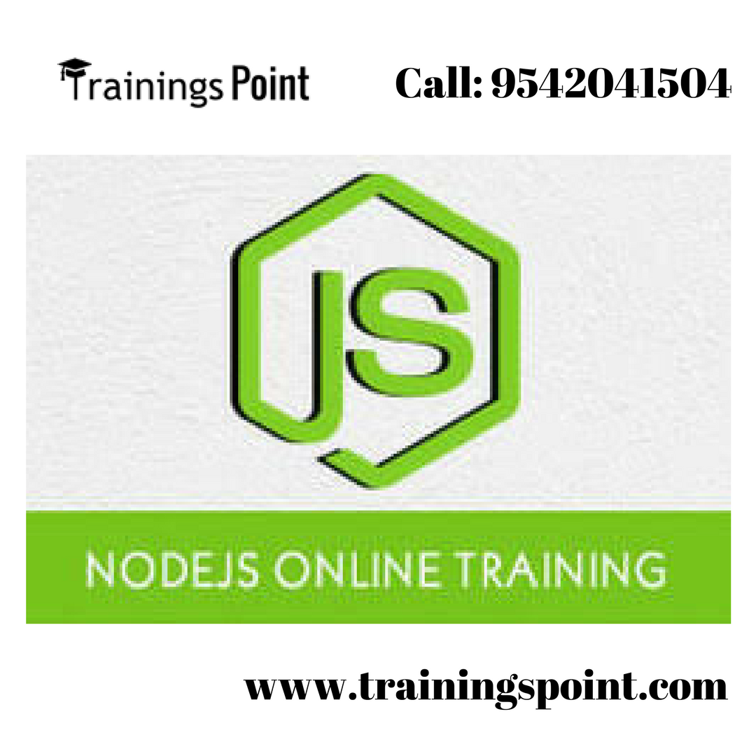 Node Js Training By Real Time Experts For Free Online Demo Sessions