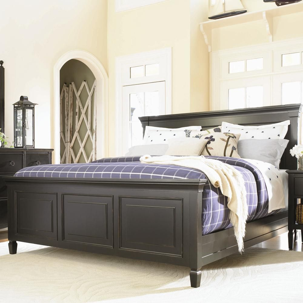 Summer Hill Complete King Panel Bed By Universal Wolf