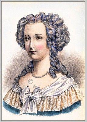 The Evolution Of Modern Feminine Fashion 1786 Costume History Marie Antoinette Marie Louis Xvi