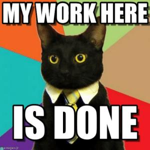 Via Me Me Business Cat Meme Business Cat Cat Memes