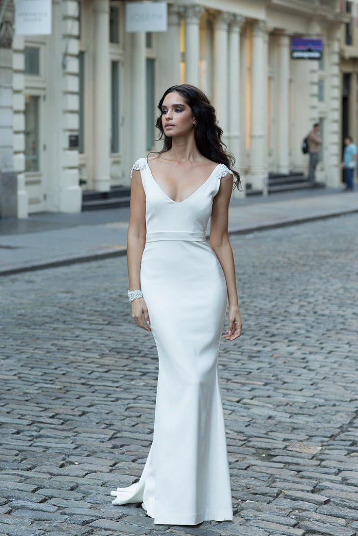 Blake Wedding Dress by Anna Campbell Wanderlust Collection - Fabmood ...