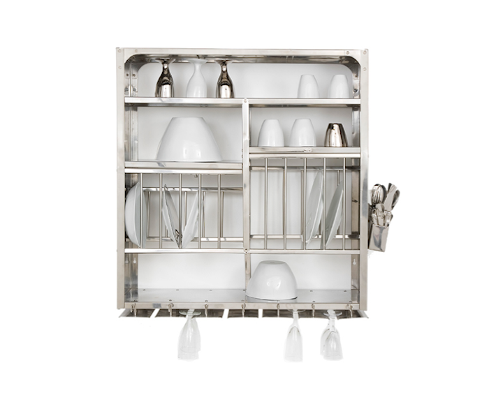 High/Low The Indian Stainless Steel Dish Rack - Remodelista  sc 1 st  Pinterest & High/Low: The Indian Stainless Steel Dish Rack | Dish racks Wall ...