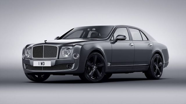 2016 Bentley Mulsanne Speed Beluga Edition By Mulliner Bentley