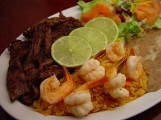 Carne Asada Con Camarones Rodeo Mexican Grill Easy Chicken Recipes Food Carne Asada