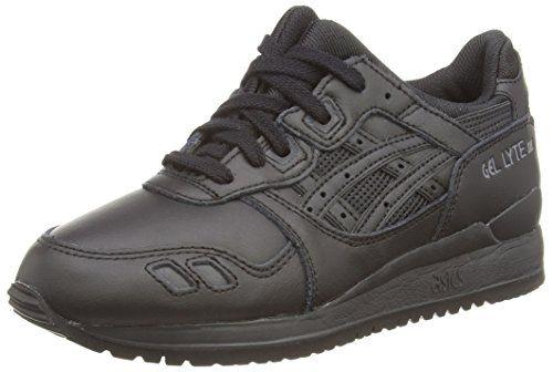 Gel-Lyte, Chaussures de Running Homme, Noir (Black/Black 9090), 42.5 EUAsics