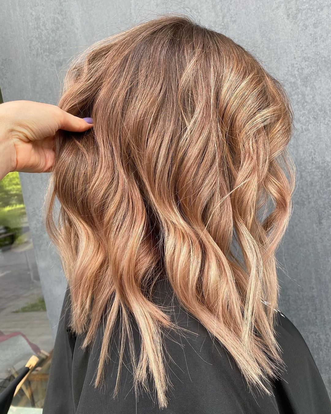 If you have Natural Brown Hair then give this hair color a try! If you don't want to damage your own hair dues to hair treatment then give Indique Hair Extensions a try for sure! #hair #haircolor #haircolorideas #blondeombre