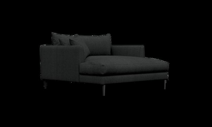 Marloe Snuggler Chaise In Tor Fabric Sofa Workshop In 2020 Sofa Workshop Sofa Price Fabric Sofa