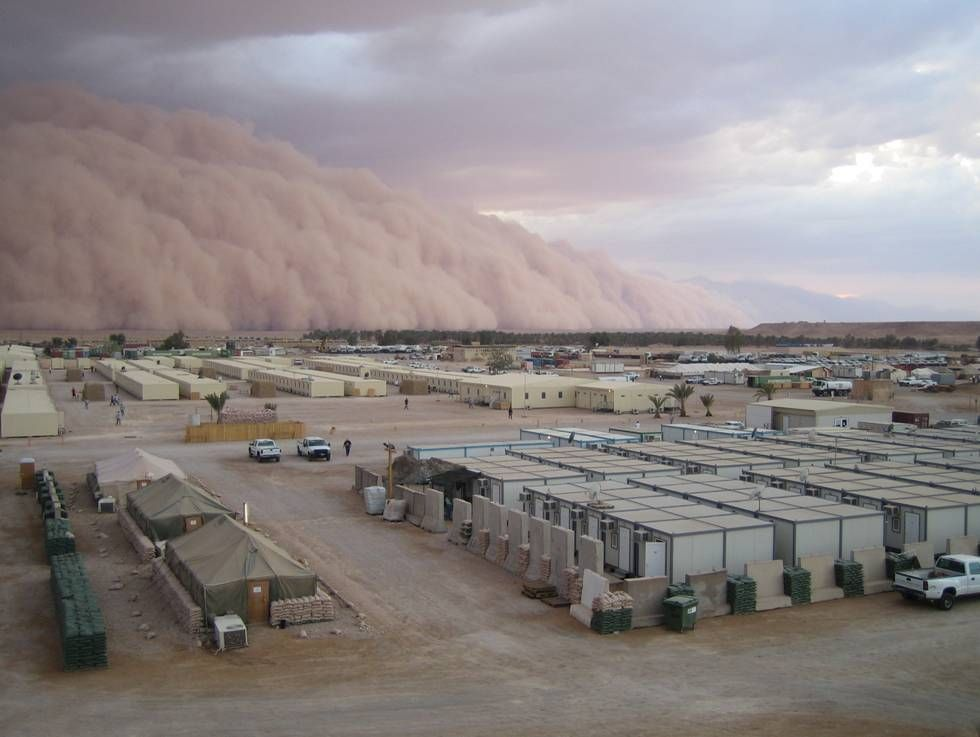 Sandstorms And Trash Problems In Iraq Cool Pictures Pictures
