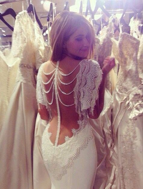 Image via We Heart It https://weheartit.com/entry/157475494 #dress #love #sexy #unique #wedding #geogeous