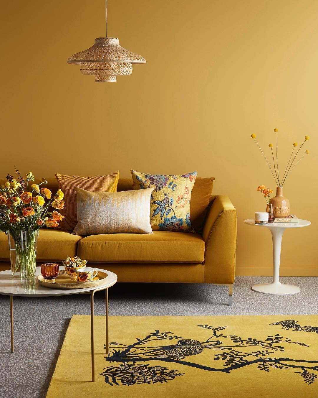 pinmy design week on wall to wall  yellow walls