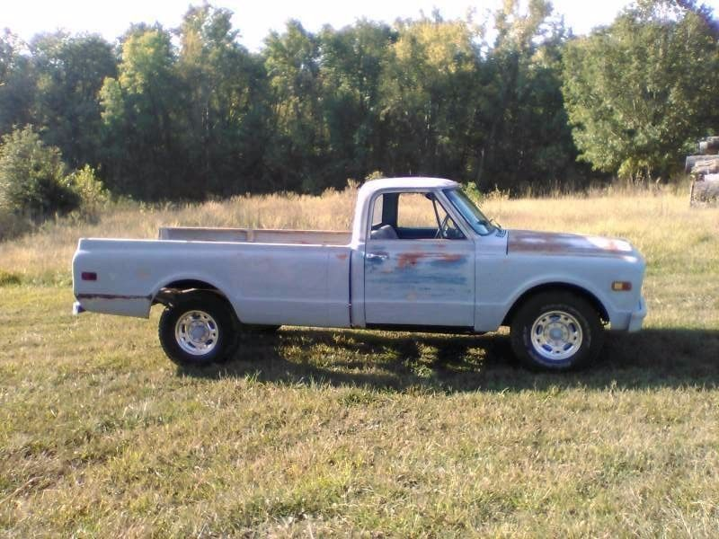 restored and modified 1968 Chevrolet Pickups Longhorn vintage truck ...